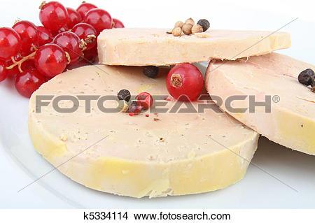 Stock Photo of foie gras k5334114.