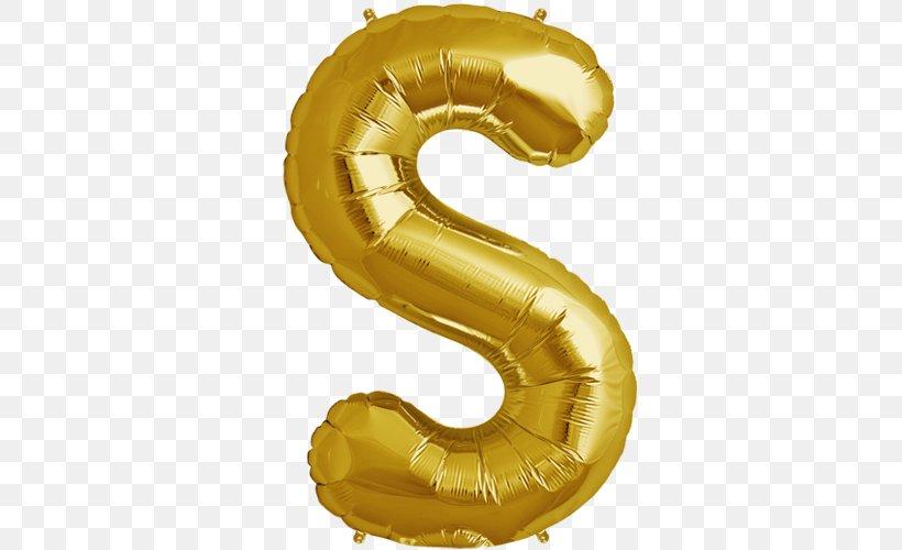 Mylar Balloon Letter Gold Alphabet, PNG, 500x500px, Mylar.