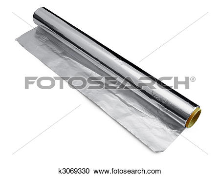 Stock Photography of Wrapping food foil k3069330.