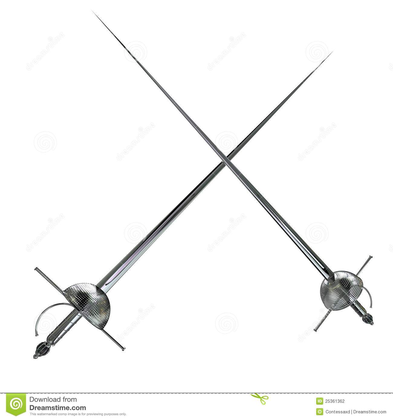 Rapier Stock Illustrations.
