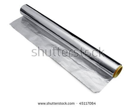 Aluminum Foil Stock Images, Royalty.