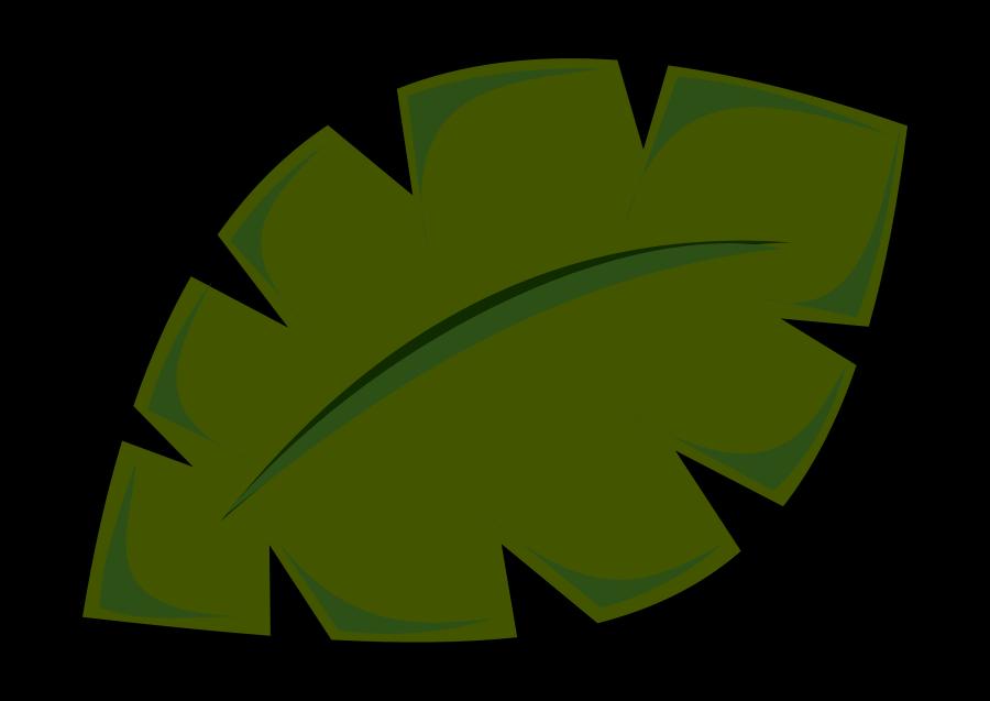 Jungle foliage clipart.