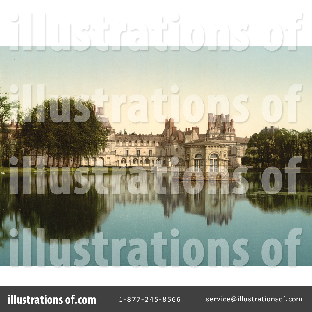 Fontainebleau Palace Clipart #1071904.