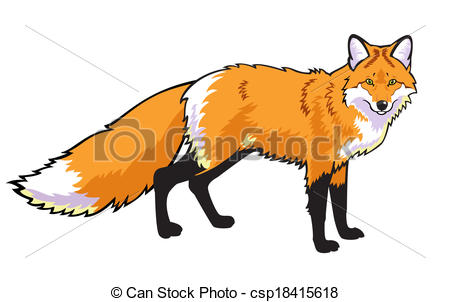 Red fox Clip Art and Stock Illustrations. 1,752 Red fox EPS.