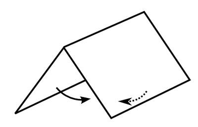 Fold clipart.