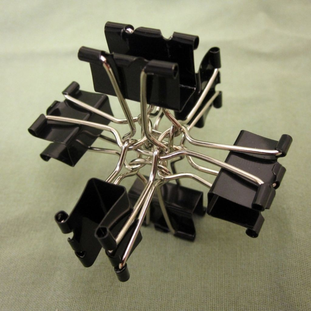 Binder Clip Ball.