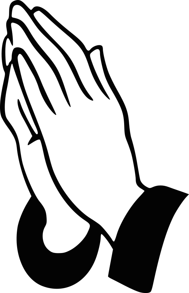Hands Folded Clipart.