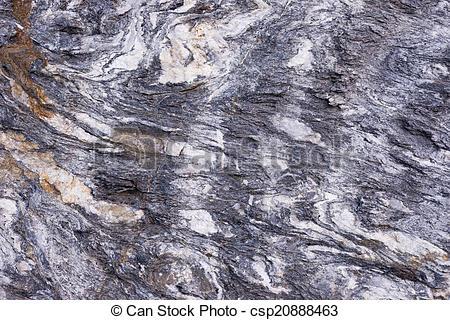 Stock Image of Folded rock.