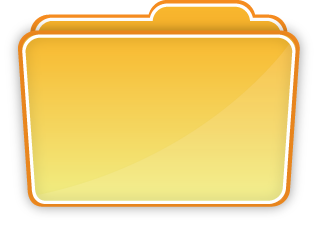 Computer file folder clipart.