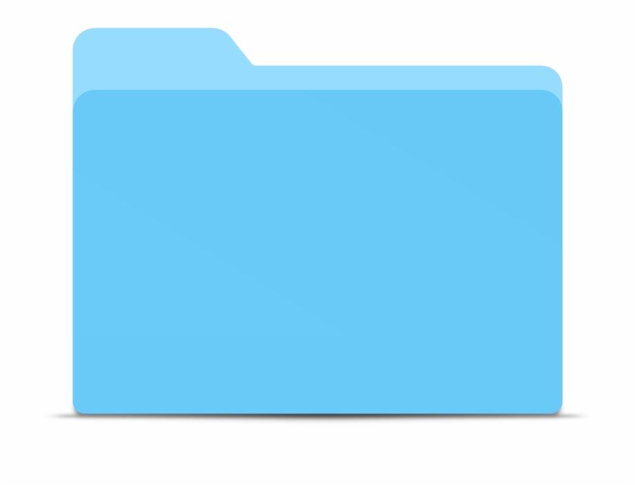 Blue Folder Png Transparent Images.