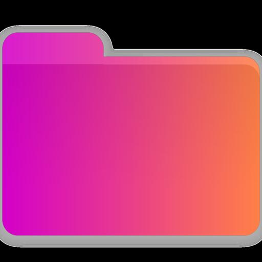 Crown, folder, blank Icon Free of Gradient Folders.