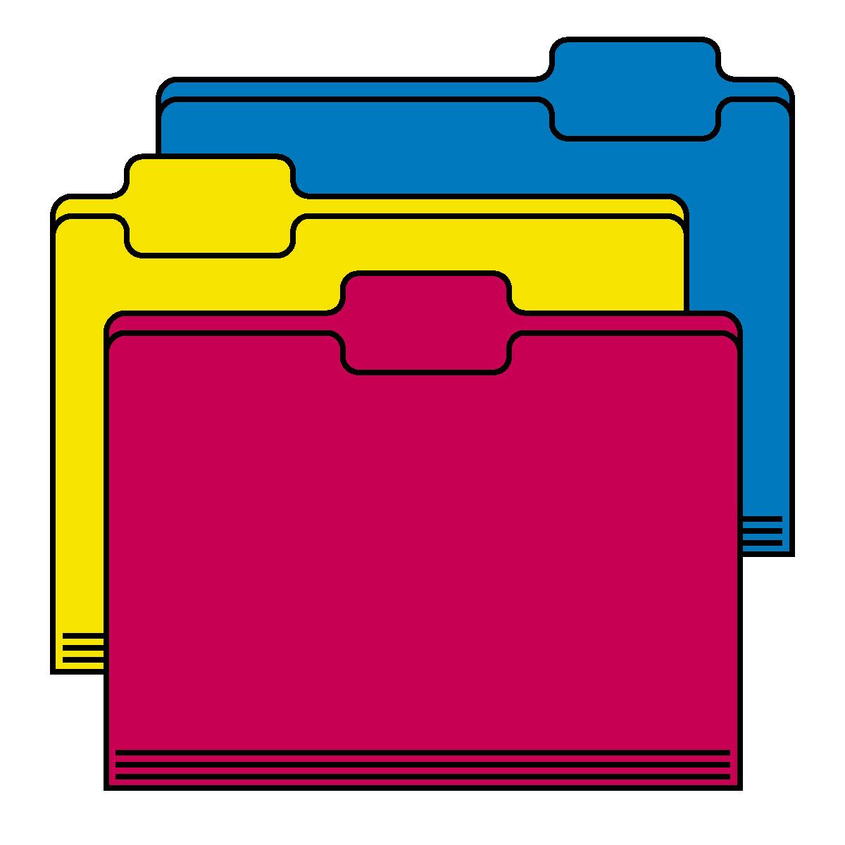 Folders Clip Art.