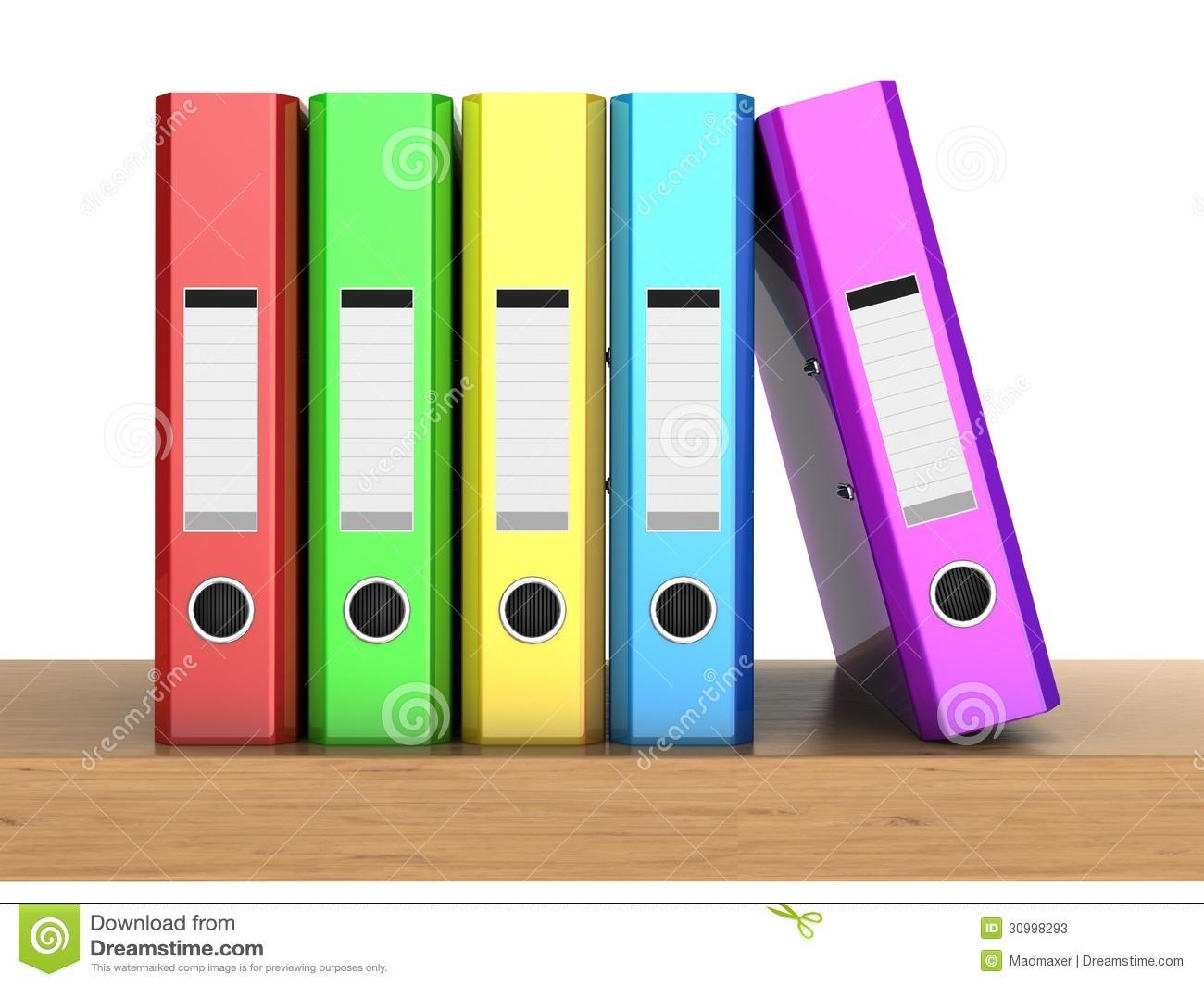 Student Folder Clipart.