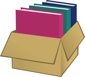 Box With Folders clip art Free Vector / 4Vector.