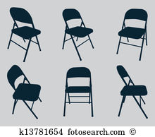 Folding chair Clipart Illustrations. 611 folding chair clip art.