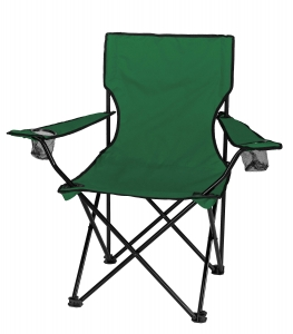 Camp chair clipart black and white.