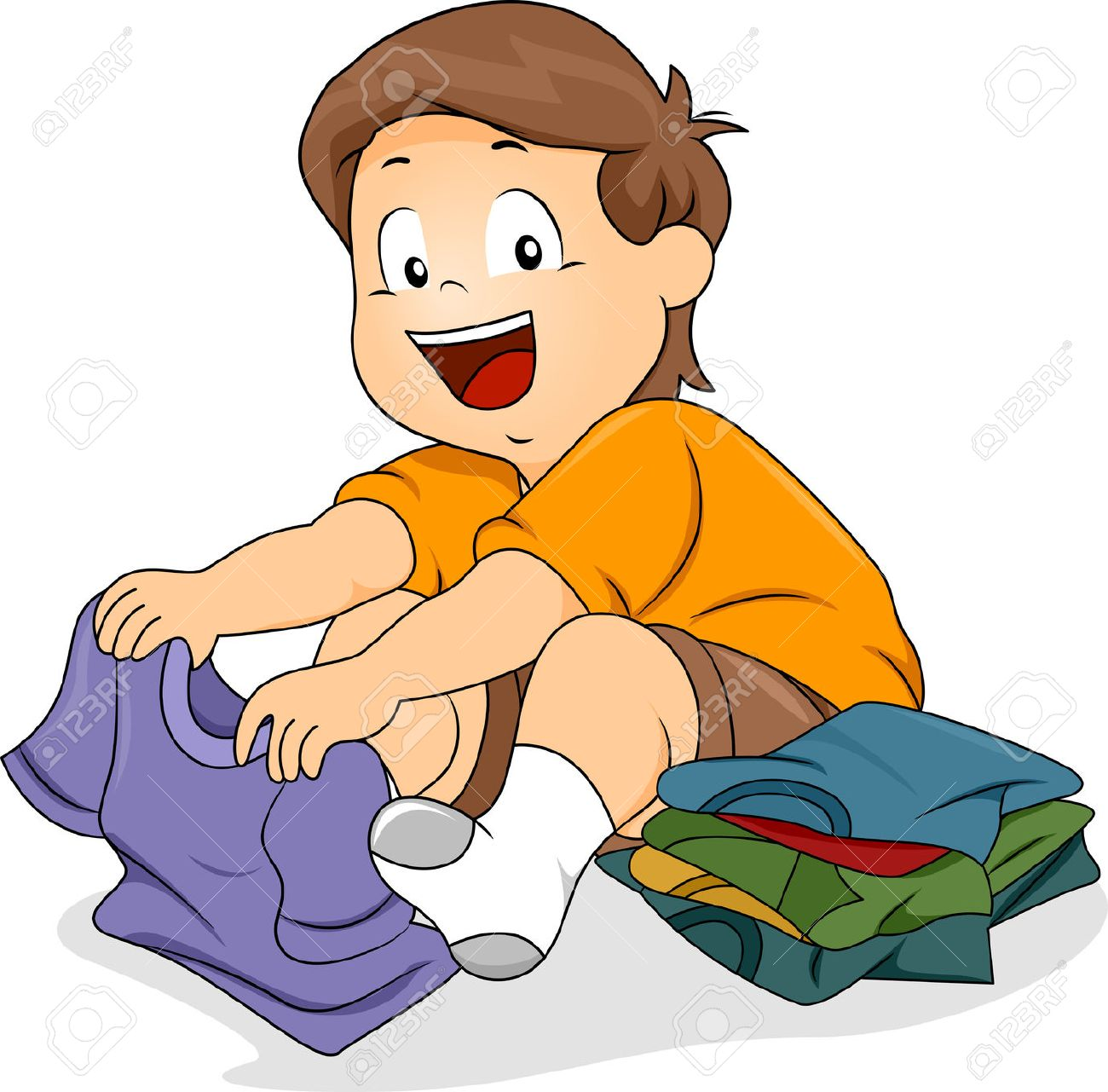 Folding clothes clipart 4 » Clipart Station.
