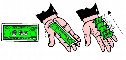 Folding Money.
