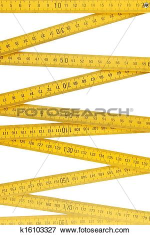 Picture of Folding ruler k16103327.