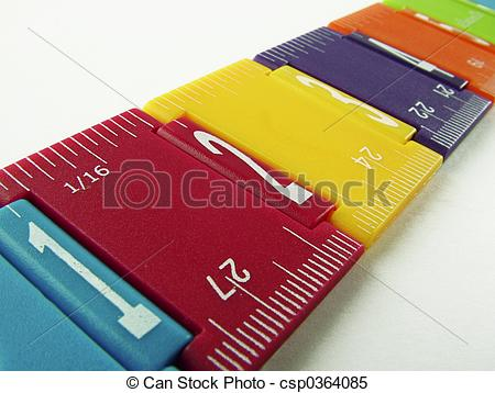 Stock Images of Folding ruler.