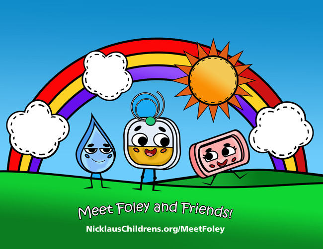 Meet Foley and Friends.