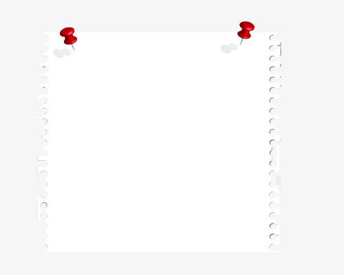 Folha De Papel Em Branco , Papel Em Branco, Papel, Memo PNG Imagem.