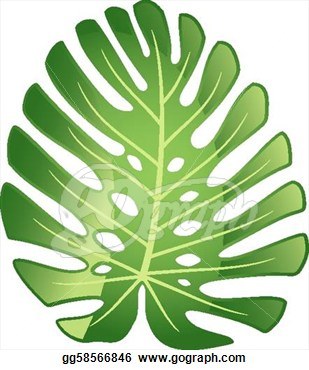 Jungle Plant Clip Art.