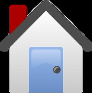 12699 Kostenlose Clipart Zeichnung Haus.
