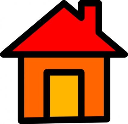 Hause Symbol ClipArt cliparts, kostenlose clipart.
