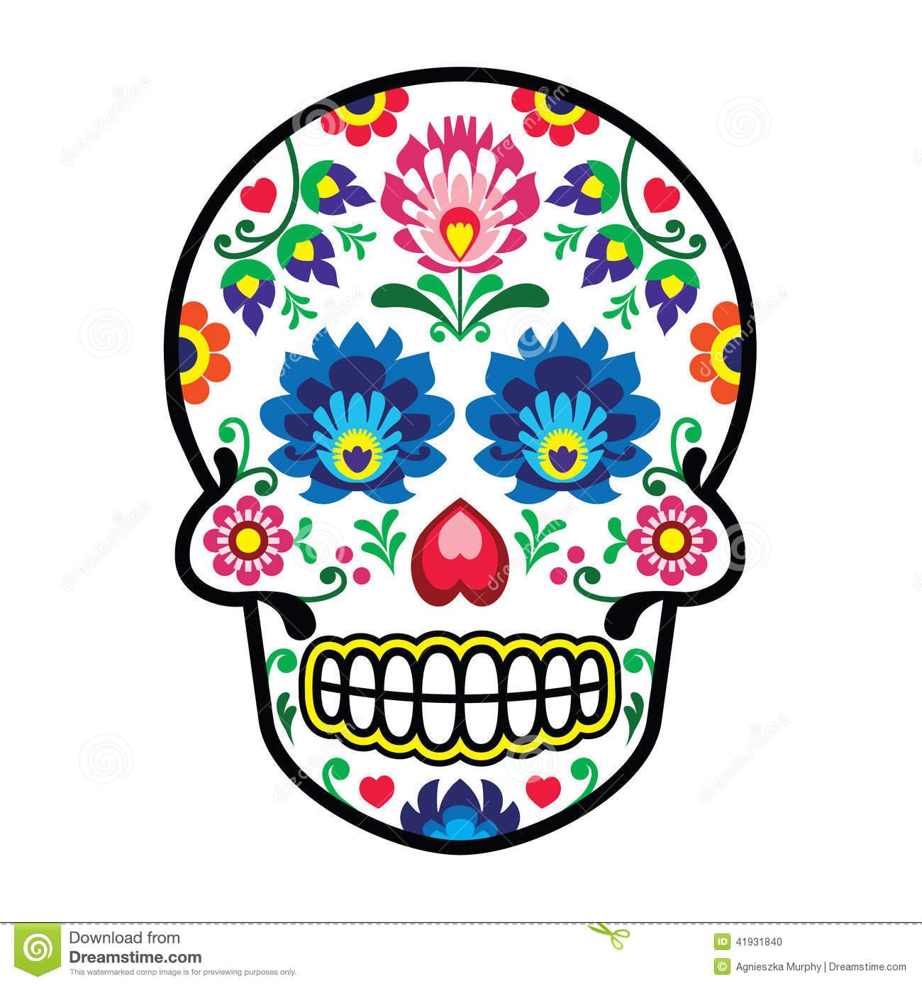 Mexican Folk Art Clipart.