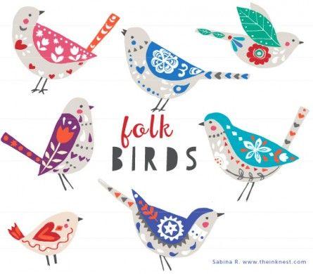 Folk Birds.