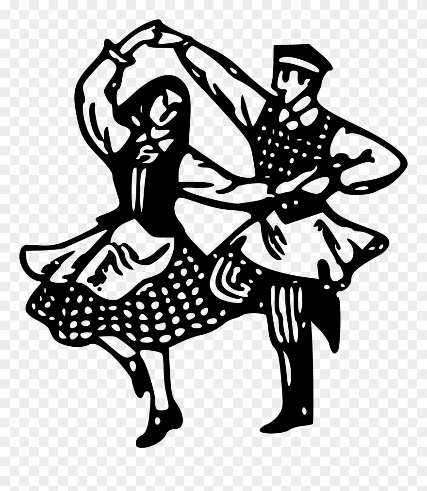 Ukraine Clipart Folk Dance.