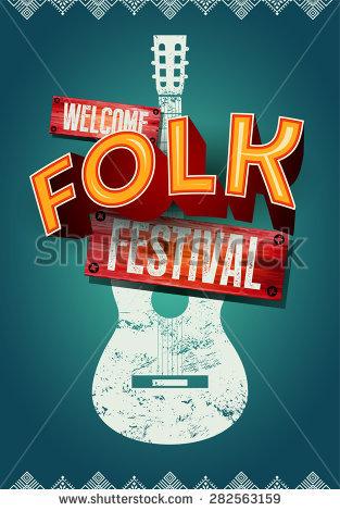 Folk Festival Stock Photos, Royalty.