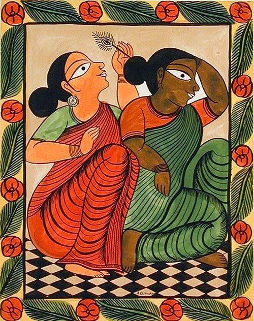 Bengali heroine clipart.
