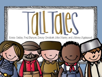 American Folk Heroes and Tall Tales by Bethany Ray.