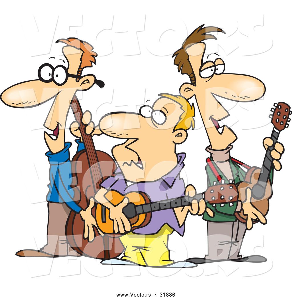 Free clipart folk musicians.