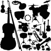 Folk Music Clip Art.