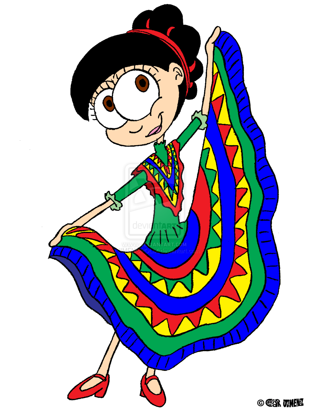 Folk Dance Clipart.