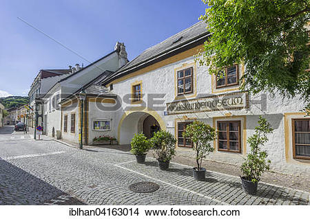 Stock Photo of Folklore museum, Modling, Lower Austria, Austria.