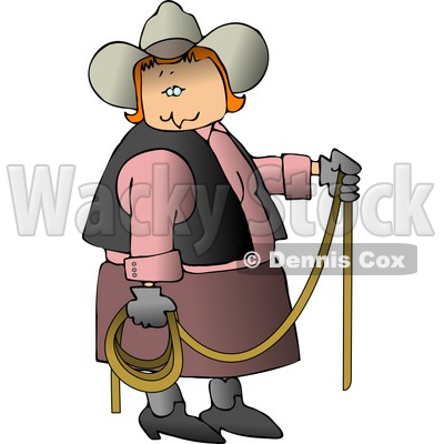 Country Folks Clipart by Dennis Cox.