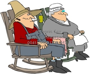 Old folks clipart.