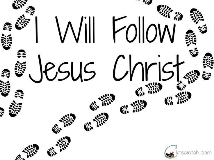 Clipart Follow Jesus