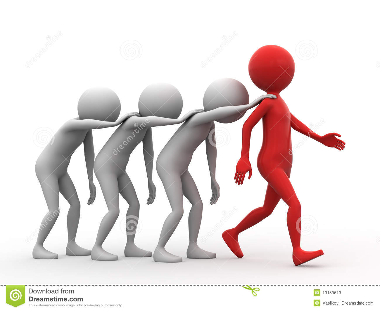 Follow The Leader Clipart.