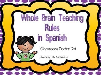 Whole Brain Teaching Posters in Spanish.