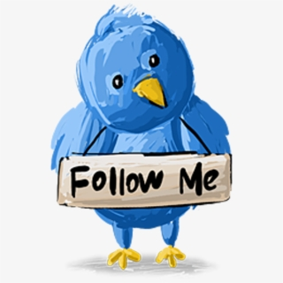 Follow Me On Twitter Png.