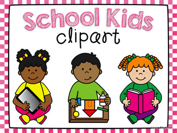 School Kids Clipart.