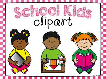School Kids Clipart.