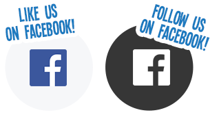 Follow Us On Facebook Logo.