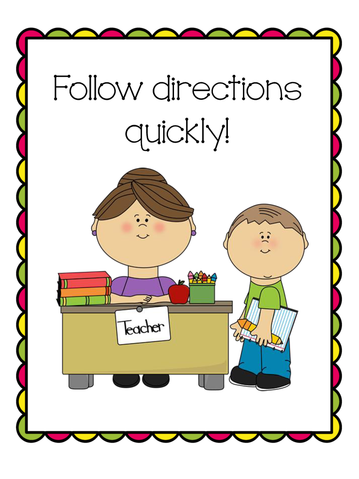 follow direction Rules clipart jpg.