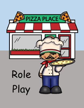 ROLE PLAY Making Pizza.